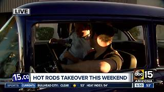 Hot rods & rock music come together in Goodyear - Video