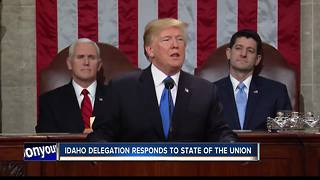 Members of Idaho's congressional delegation react to State of the Union Address - Video