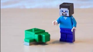 Lego Minecraft Turtle Tutorial