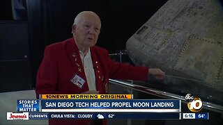 San Diego technology helped Apollo 11 launch and land