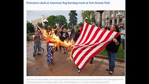 Why Democrats Burn Flags