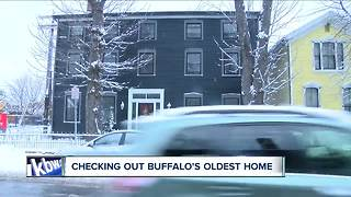 Buffalo's oldest house is up for sale - Video