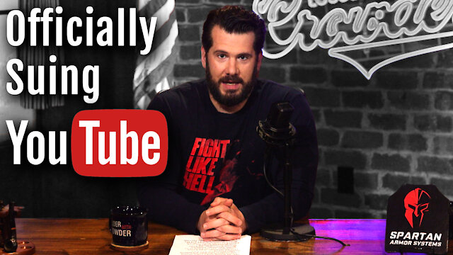 FIGHT LIKE HELL: Why I'm SUING YouTube!