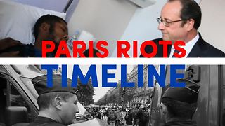 Riots against Paris police: A timeline of what happened - Video