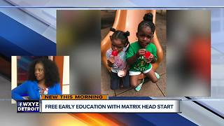 Matrix Human Services offers Free Early Education - Video