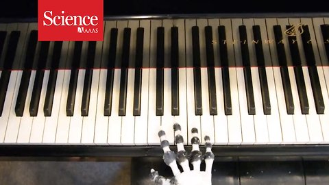Listen to this piano-playing robot hit all the right notes
