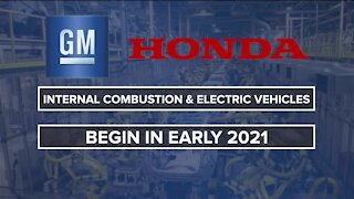 General Motors, Honda sign deal to develop future products in North America