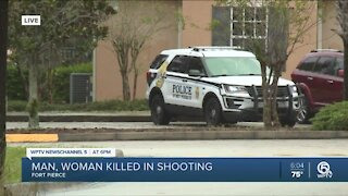 Man, woman shot and killed at Fort Pierce apartment complex