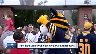 New season brings new hope for Sabres fans - Video