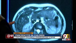 Children's Hospital seeing more kids with pancreatitis - Video