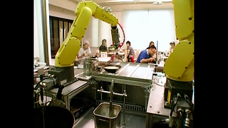 Robots Make Noodles - Video