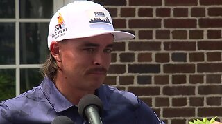 Rickie Fowler discusses first round at Rocket Mortgage Classic