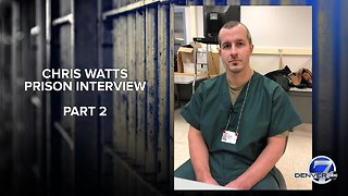 Audio: Chris Watts prison interview, part 2