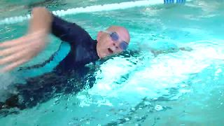 90-year-old Tulsan could hang with Olympians - Video