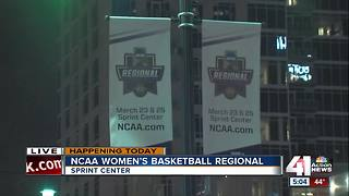 NCAA women's basketball taking over Sprint Center - Video