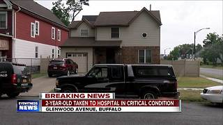 2-year-old taken to hospital in critical condition - Video