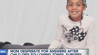 Mom desperate for answers after daughter dies following surgery - Video