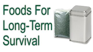 Foods for Long-term Survival
