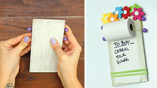 DIY Notepaper Roller - Video