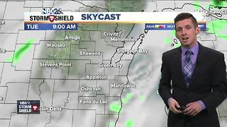 Slight chance for a Tuesday shower - Video