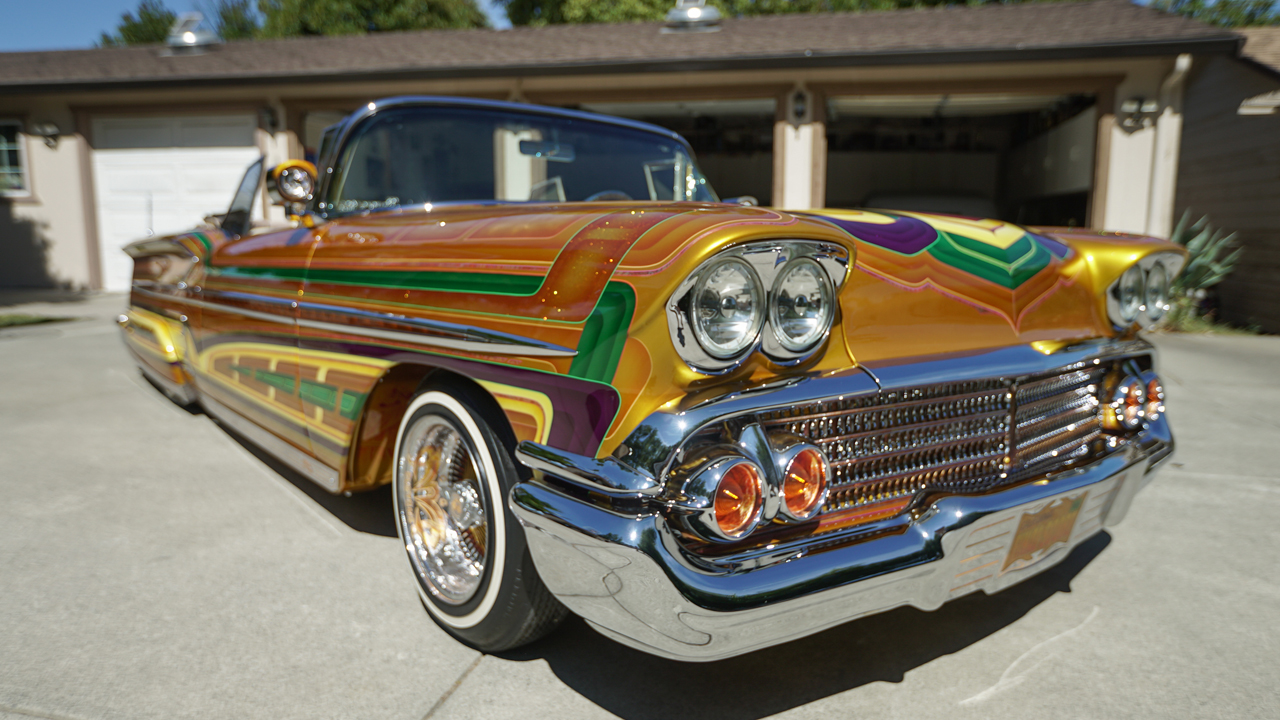 Spectacular Chevvy Lowrider Boasts 600 Custom Parts I RIDICULOUS RIDES