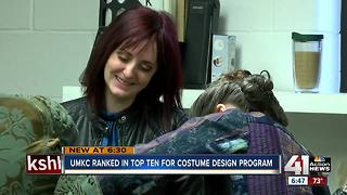 UMKC's costume program one of the nation's best - Video