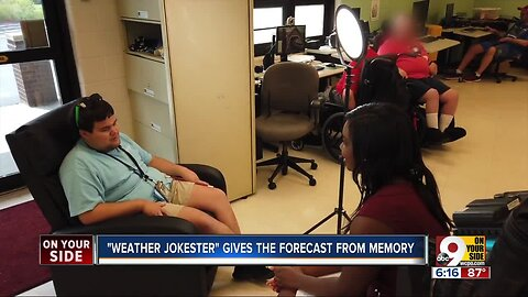 Fort Mitchell 'weather jokester' gives forecast from memory