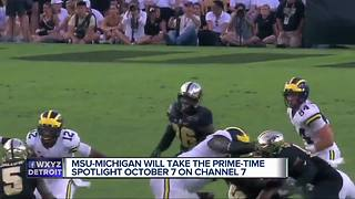 Michigan State vs. Michigan to air in primetime for the first time ever - Video