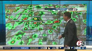 Partly cloudy skies, T-storms this afternoon - Video