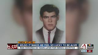 Students honor KC hero who died saving teacher - Video
