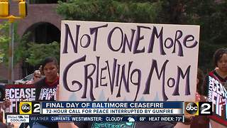 Final Day of Baltimore Ceasefire - Video