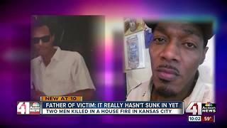 Brother and son killed in KCMO house fire day before Thanksgiving