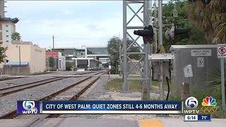 West Palm Beach says train quiet zones still 4-6 months away - Video