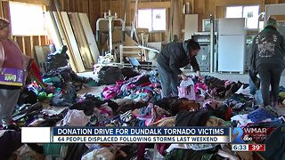 Donation Drive For Dundalk Tornado Victims