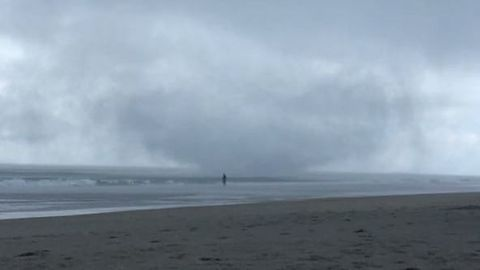 Waterspout Damages Beach Property in Surf City