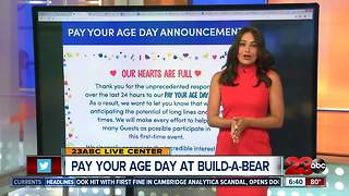 Pay Your Age at Build-A-Bear - Video