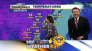 Meet Destiny, Our weather kid of the week - Video