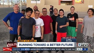 Special group of runners in upcoming half marathon
