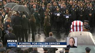 Full coverage: Funeral and procession for Officer Michael Michalski - Video