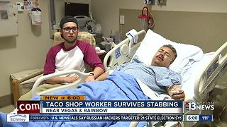 Roberto's Taco Shop cook stabbed by customer over nacho order - Video