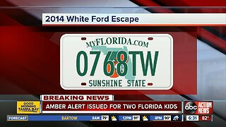 AMBER ALERT issued for two missing northern Florida boys
