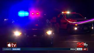 Vehicle vs. pedestrian crash in Central Bakersfield - Video