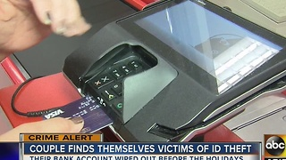 Couple finds themselves victims of ID theft - Video