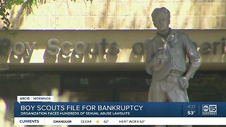 Boy Scouts file for bankruptcy
