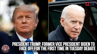 President Trump, Former Vice President Biden Face Off for the First Time!