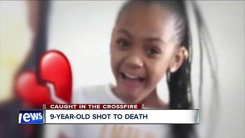 9-year-old girl was killed in crossfire between two groups, police say