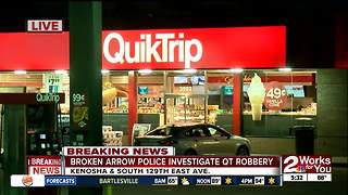 Robbery at BA QuikTrip - Video