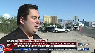 Paramedics describe community response to Las Vegas mass shooting