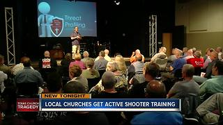 Tampa Bay church leaders train for active shooter response - Video
