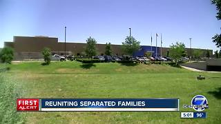 Reuniting separated families - Video